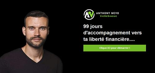 99 jours Anthony Nevo