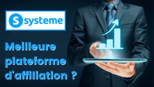 Read more about the article Systeme.io : Meilleure plateforme d'affiliation 2021 – Avis