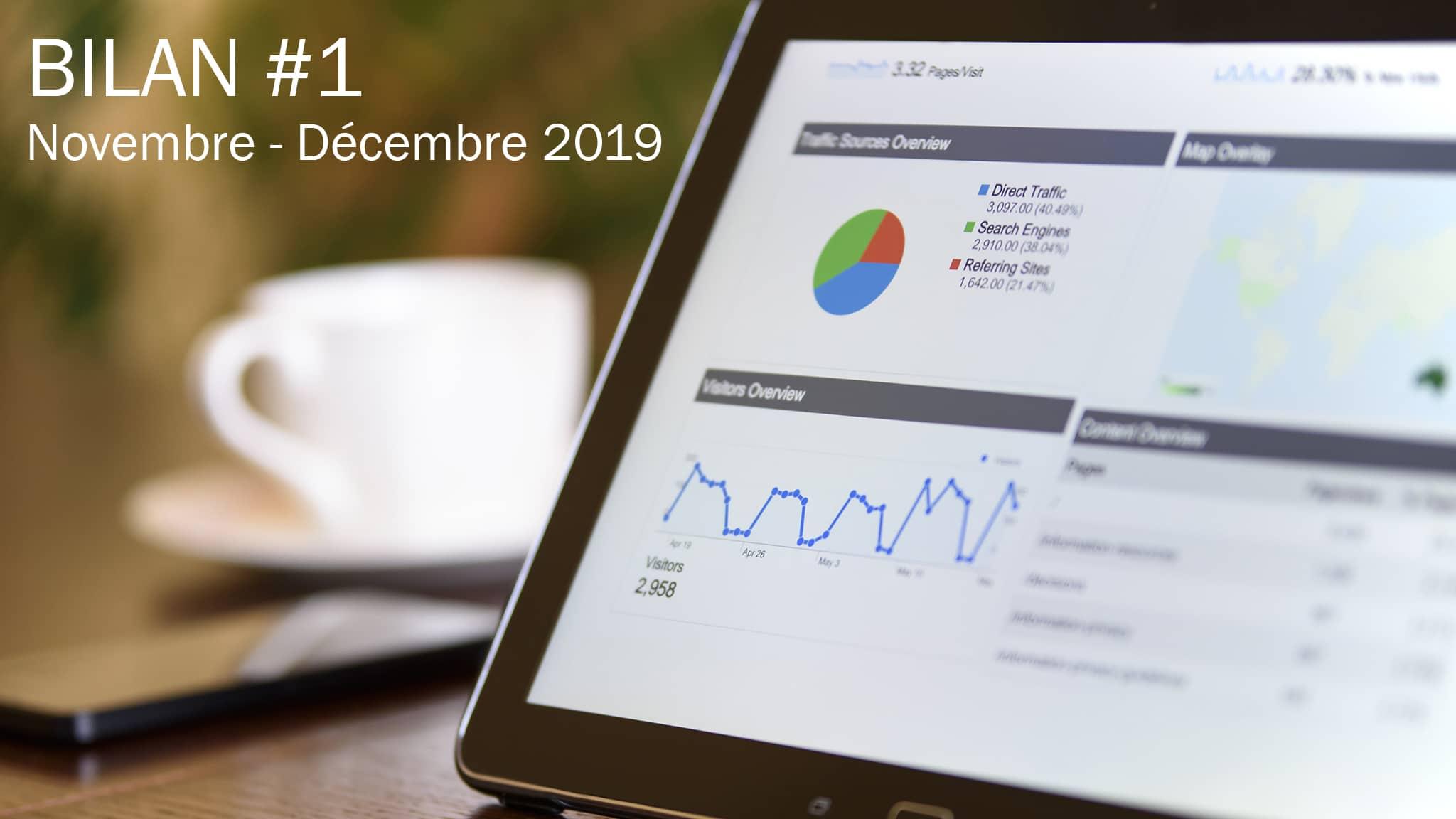 Bilan d'Affiliation #1 – Novembre et Décembre 2019